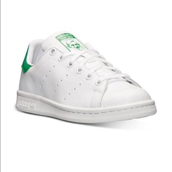 ADIDAS Stan Smith sneakers Green Big Kids size 5